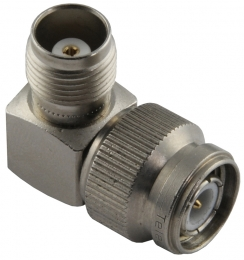 TNC Corner adapter male-female 50ohms