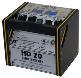 Battery Pack HD20 - Black with Yellow trim