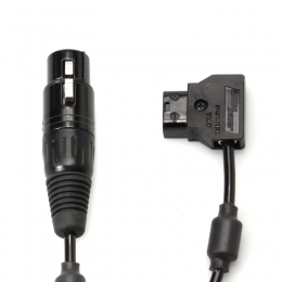 XLR4-F to D-Tap Power Cable