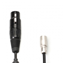 XLR4-F to Hirose4 - Power Cable