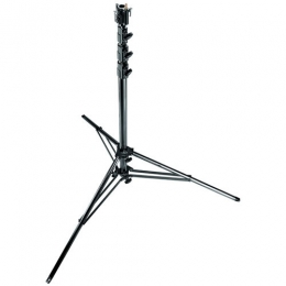 Manfrotto Super Stand Steel - Black Zinc Levleg