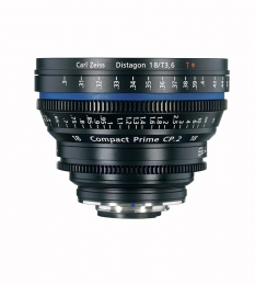 Zeiss Compact Prime2 EF 18/3.6 T* - metric