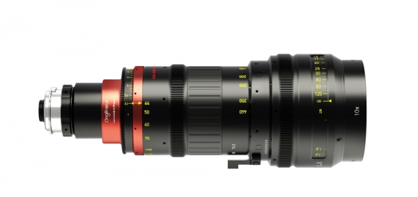 Optimo Anamorphic 44-440mm A2S PL M Scale