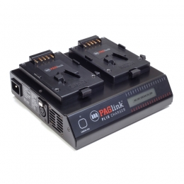 PAGlink PL16 Charger (2x V-Mount / iPC)