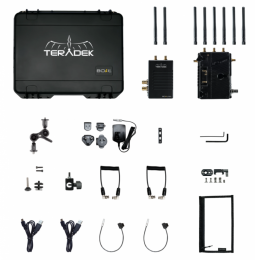 10-1955-1G BOLT LT 1000 Wireless HD-SDI TX/RX Deluxe Kit Gold Mount