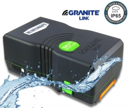 Granite TWO Splash 190Wh 13,2Ah Vlock Li-Ion mang. Battery, IP65 - WIFI