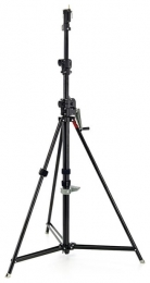 Manfrotto Wind-Up 3 Section - Black Zinc