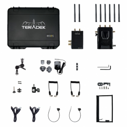 10-1955-1V BOLT LT 1000 Wireless HD-SDI TX/RX Deluxe Kit V Mount