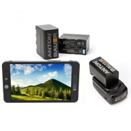 SmallHD 702 7'' Bright Full HD Field Monitor + NPF Battery Kit