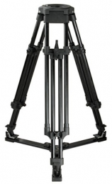 Alu tripod 1 stage flat base
