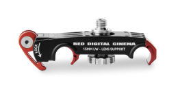 RED LENS SUPPORT 15MM (LIGHTWEIGHT)