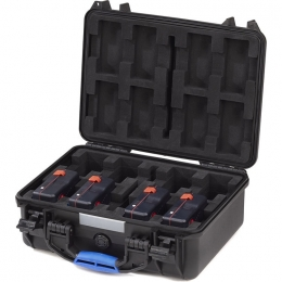 UN Certified Flight Case for 8 Batteries Mini