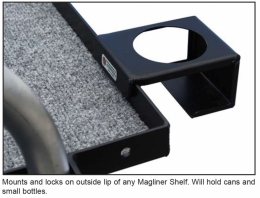 Mag Cup Holder with Locking Mount
