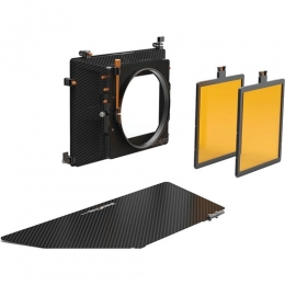 Blacklight Kit 1:  6.6x6.6'' 2-Stage Matte Box