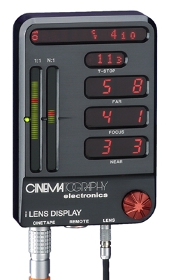 /i Lens Display by CE, for Cine Tape Measure