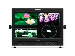 TVLogic 17'' Quad HD monitor with built in quadsplitter