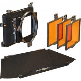 Misfit Kit 4: 4x5.65'' 3-Stage Matte Box: inc,Top