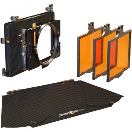 Misfit Kit 2: 4x5.65'' 3-Stage Matte Box: inc,Top