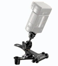 Manfrotto Spring Clamp w/Flash Shoe