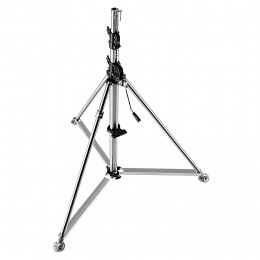 Manfrotto Super Wind-Up Tripod Stainless Steel