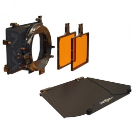 VIV Kit 1: 4x5.65'' 2-Stage Matte Box: Inc, Top Fl
