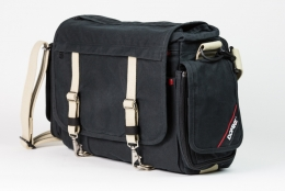 Domke Metro Messenger Bag Black/Sand