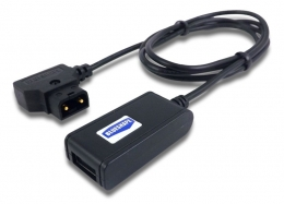 Cable D-tap to USB with Voltage regulation 5V