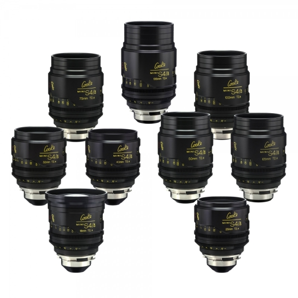 Cooke Mini S4/i x9 Set (18,25,32,40,50,65,75,100,1