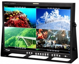 TVLogic 24'' Quad HD monitor with built in quadsplitter