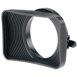 16x9 70mm Rubber Lens Shade