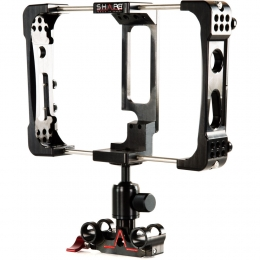 SHAPE atomos flame cage with 15mm rod ballhead