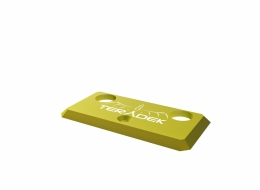 11-0780 Yellow Identification Plate for Bolt 1000/3000 TX
