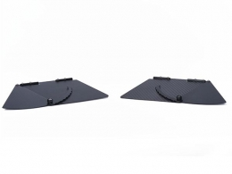 VIV Carbon Fibre Side Flags Pair: