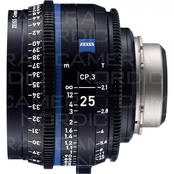 ZEISS CINE CP.3 25MM PL/MT