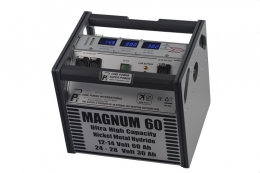 Battery Pack Magnum 60 - Black with Blue Trim
