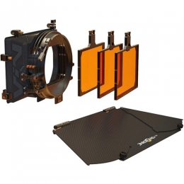 VIV Kit 2: 4x5.65'' 3-Stage Matte Box: Inc, Top Fl