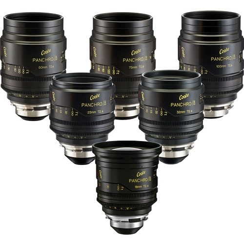 Cooke Mini S4/i x6 Set (18,25,32,50,75,100mm)