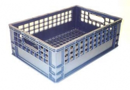 Half Milk Crate (School Crate)