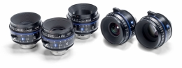CP.3 Lenses - 5 Lens Set - XD eXtended Data
