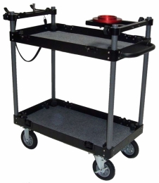Mini Flight Case Cart (Aluminum)
