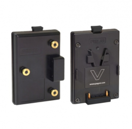 Adapts Gold Mount for V-Mount batteries
