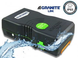 Granite TWO Splash 100Wh 6.60Ah Vlock Li-Ion mang. Battery, IP65 - WIFI
