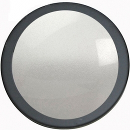 Frosted glass (242mm/9.5'')