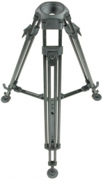 Carbon tripod 1-stage 100mm bowl