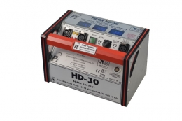 HD CameraPower 30 - Grey with White trim